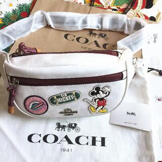 COACH - 日本限定 DISNEY×COACH ベルトバッグ 3786 ミッキー男女兼用