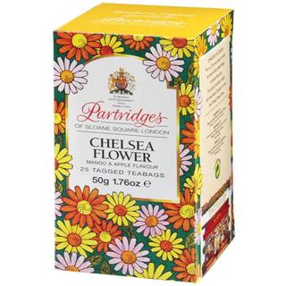 英国 Partridges  チェルシーフラワーティ 紅茶(25ティーバッグ)※(茶)