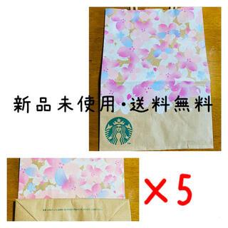 Starbucks Coffee - スターバックスコーヒー スタバ スターバックス ショップ袋 紙袋 さくら 限定