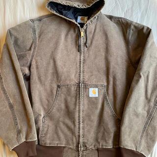carhartt - L USA製 90s carhartt duck active jacket 茶