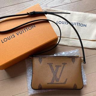 LOUIS VUITTON - LOUISVUITTON ルイヴィトン ポシェット・ドゥーブル ジップ