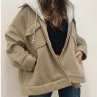 GYDA - Wフェイスオーバーサイズジャケット