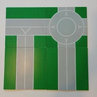 Lego - LEGO 基礎版4枚セット 道路  中古