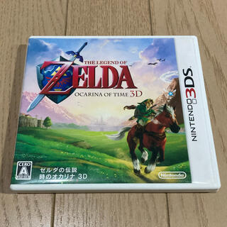 ニンテンドー3DS(ニンテンドー3DS)のゼルダの伝説 時のオカリナ 3D 3DS(携帯用ゲームソフト)