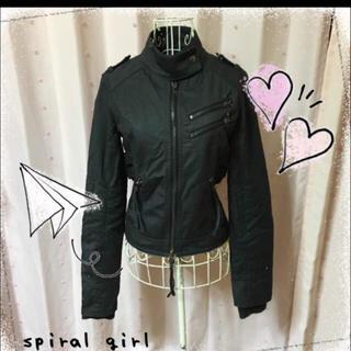スパイラルガール(SPIRAL GIRL)のspiral girl   (ライダースジャケット)