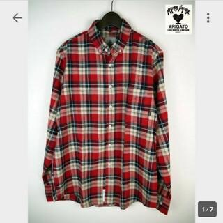 ハリウッドランチマーケット(HOLLYWOOD RANCH MARKET)の新品 定価16200円 アメリカ FAZE 長袖シャツ マドラス チェックシャツ(シャツ)