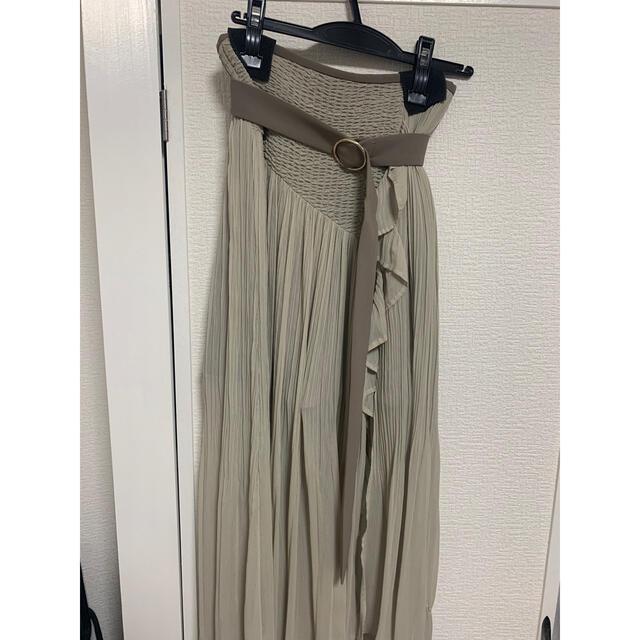 snidel(スナイデル)のsnidel プリーツスカショーパン レディースのスカート(ロングスカート)の商品写真