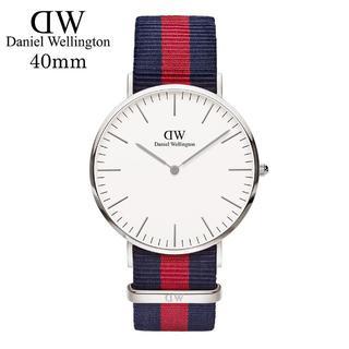 ダニエルウェリントン(Daniel Wellington)のDanielWellingtonシルバー腕時計0201DW40mm(腕時計(アナログ))