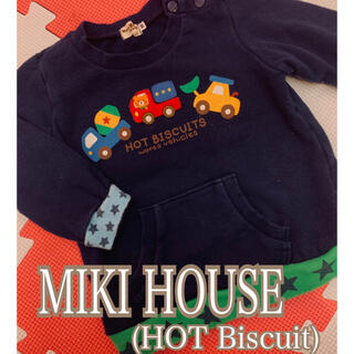 HOT BISCUITS - ミキハウス(HOT Biscuit)トレーナー
