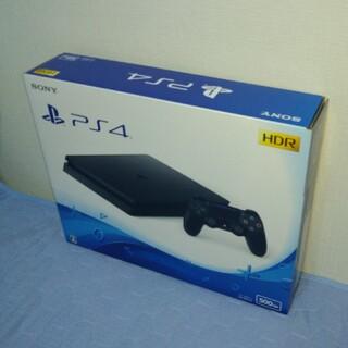 PlayStation4 - 新品未開封★プレイステーション4本体CUH-2200ブラック500GB★捺印なし