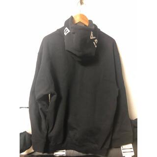 Balenciaga - サイズXS balenciaga logo hoodie ブラック