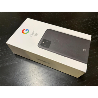 Google Pixel - Google pixel 5 黒② SIMロック解除済