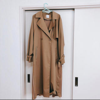 Ameri VINTAGE - アメリヴィンテージBACK PLEATS LAYERED COAT