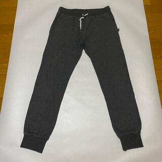 ハリウッドランチマーケット(HOLLYWOOD RANCH MARKET)の正規品 SWEET PANTS スリムスウェットパンツ チャコールグレーSサイズ(その他)