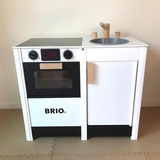 ブリオ(BRIO)のBRIO ブリオ キッチンストーブ&シンク ホワイト(知育玩具)