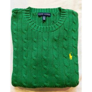 Ralph Lauren - ラルフローレン ニット 緑セーター