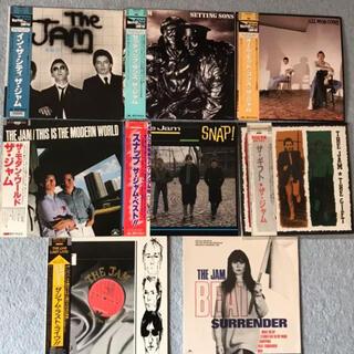 国内盤 The Jam ザ・ジャム LP レコード 8枚 SP5枚 13枚セット(ポップス/ロック(洋楽))