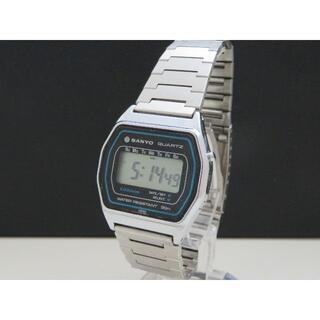 サンヨー(SANYO)のSANYO デジタル腕時計 ヴィンテージ (腕時計(デジタル))