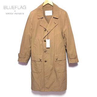 サンヨー(SANYO)の新品 Mサイズ サンヨーコート ブルーフラッグ ベルテッド コート 日本製(チェスターコート)