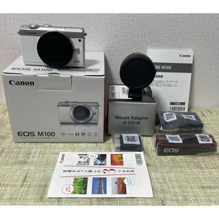 Canon - CanonEOS M100 マウントアダプター Bluetooth&Wi-Fi