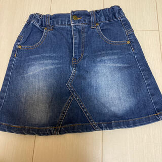 セブンデイズサンデイ(SEVENDAYS=SUNDAY)のデニムスカート120cm(スカート)