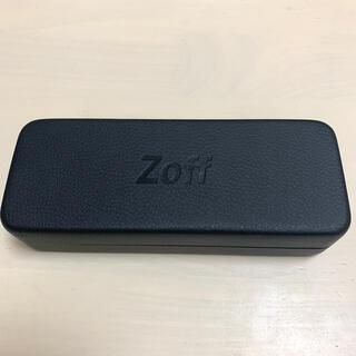 ゾフ(Zoff)のzoff メガネケース メガネ拭き付き(サングラス/メガネ)