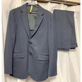 ジーユー(GU)のメンズ スーツ gu  ネイビー(セットアップ)