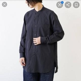 コモリ(COMOLI)の【COMOLI】comoli コモリ バンドカラーシャツ/サイズ0(シャツ/ブラウス(長袖/七分))