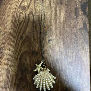 ローズバッド(ROSE BUD)の貝殻ネックレス(ネックレス)