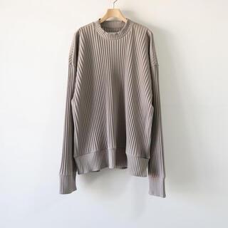 SUNSEA - stein pleated knit プリーツニット シュタイン 21ss