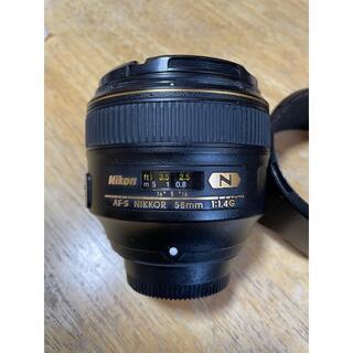 Nikon - Nikon ニコン AF-S NIKKOR 58mm f/1.4G