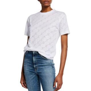 ステラマッカートニー(Stella McCartney)のステラマッカートニー モノグラム ジャージー Tシャツ White(Tシャツ(半袖/袖なし))