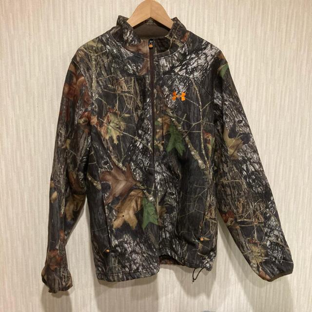 UNDER ARMOUR(アンダーアーマー)の今夜限りUNDER ARMOUR アンダーアーマー ハンティングジャケット 迷彩 メンズのジャケット/アウター(ナイロンジャケット)の商品写真