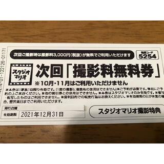 キタムラ(Kitamura)のスタジオマリオ 撮影料無料券 カメラのキタムラ(その他)