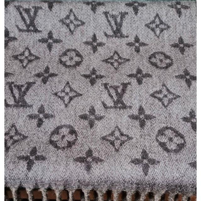 LOUIS VUITTON(ルイヴィトン)の【レア】【美品】 ルイヴィトン マフラー エシャルプ モノグラム グラディエント メンズのファッション小物(マフラー)の商品写真