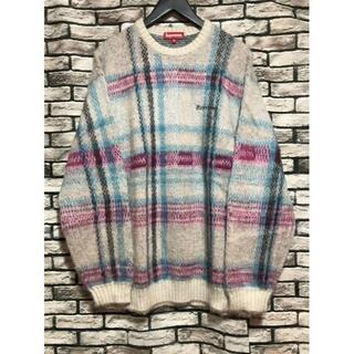 Supreme -  シュプリーム★20AW Brushed Plaidモヘアチェックニットセーター