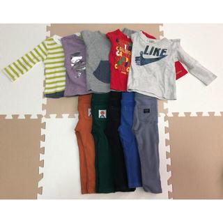 BREEZE - 90cm まとめ売り レギンス、長袖Tシャツ