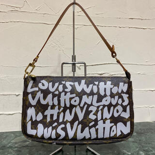 ルイヴィトン(LOUIS VUITTON)の激レア Louis Vuitton モノグラム・グラフィティ アクセソワール(ショルダーバッグ)