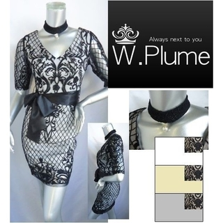 Andy - W.Plume ダブルプルーム キャバドレス キャバワンピース タイトドレス