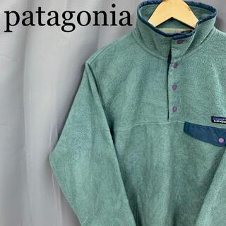patagonia - USA製 patagonia パタゴニア シンチラ スナップt プルオーバー
