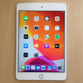 Apple - iPad mini4 Cellular SIMフリー 16GB バッテリー良好