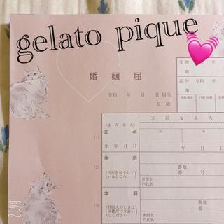 gelato pique - 【限定特価!】ジェラートピケ🐏婚姻届 結婚 コラボ