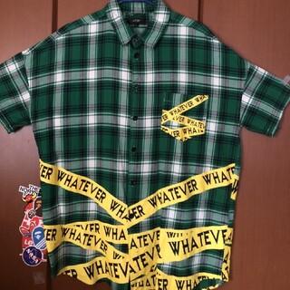 緑チェックシャツ(シャツ)