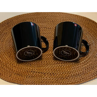 イッタラ(iittala)の新品☆イッタラ☆ティーマ☆ブラック 黒 マグカップセット♪(グラス/カップ)
