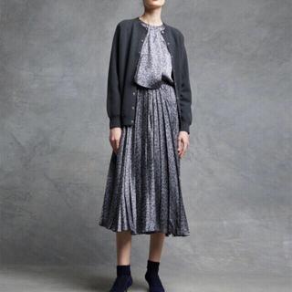 Drawer - Drawer シルクプリーツスカート