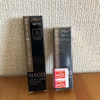 MAQuillAGE - 資生堂 マキアージュ アイブロー 詰め替え 2個セット
