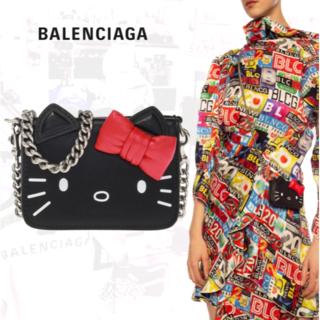 Balenciaga - BALENCIAGA バレンシアガ KITTY キティ チェーン 3つ折り財布