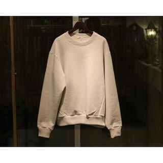 COMOLI - Allege 20aw Cotton Cashmere Sweat