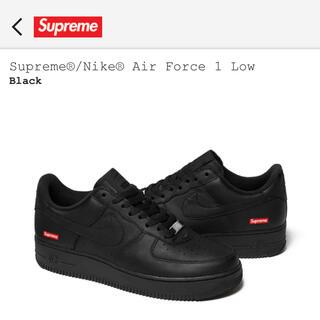 Supreme - Supreme × Nike Air Force 1 Low 黒 26cm