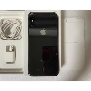 アイフォーン(iPhone)のiphone XS Max Space Gray 64Gb Simフリー(携帯電話本体)